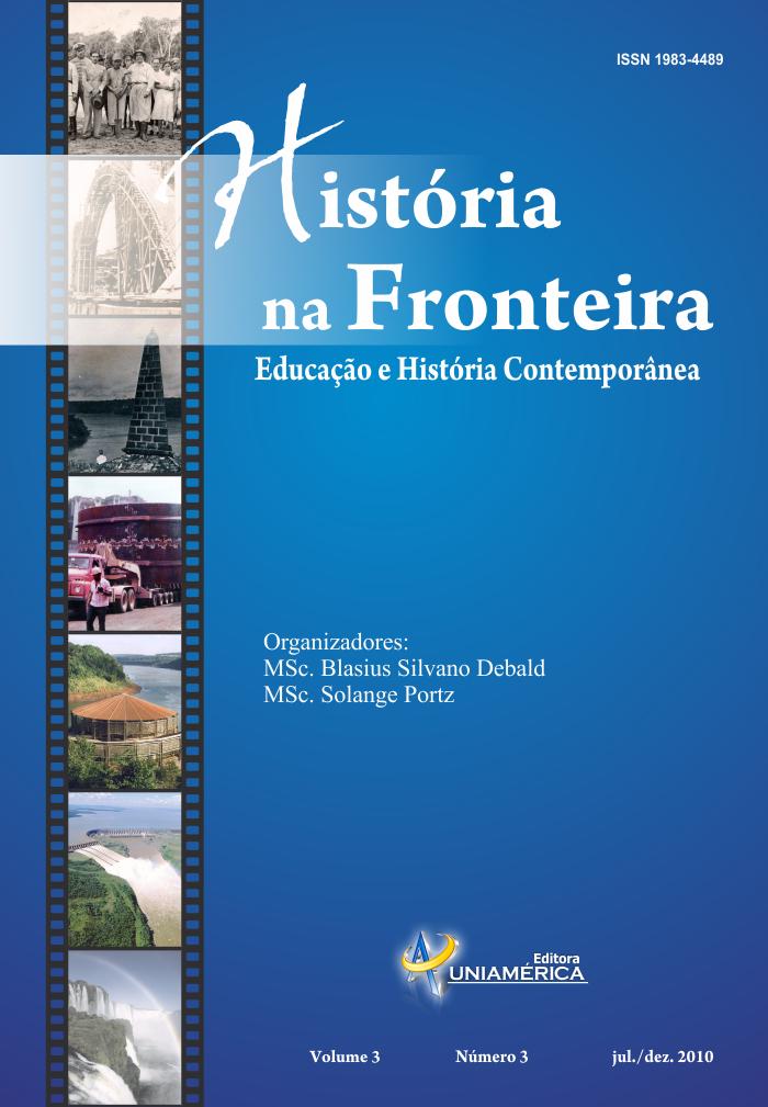 Visualizar v. 3 n. 3 (2010): Revista História